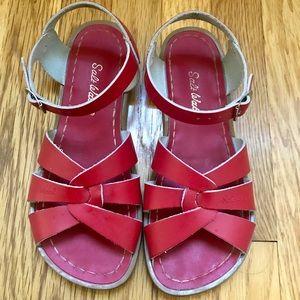 Salt Water Sandals (red)